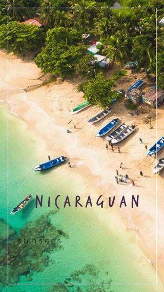 NICARAGUAn sunsets