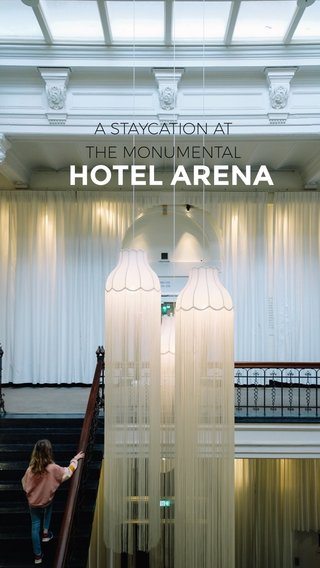 HOTEL ARENA A STAYCATION AT THE MONUMENTAL