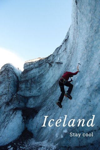 Iceland Stay cool