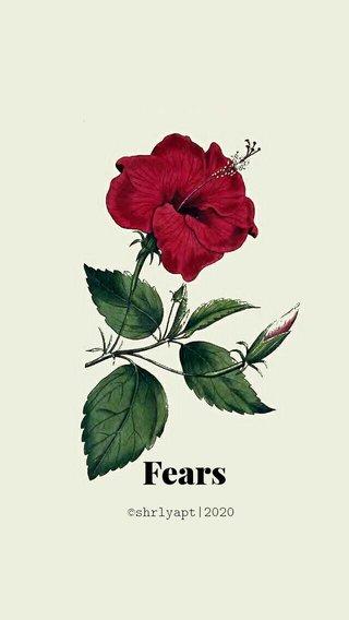 Fears ©shrlyapt|2020