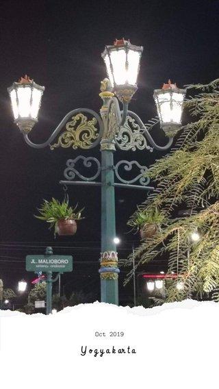 Yogyakarta Oct 2019