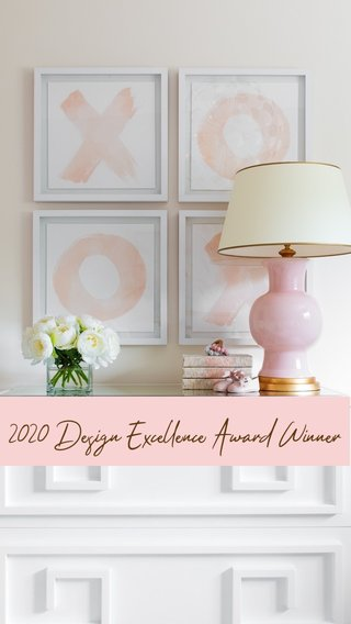 2020 Design Excellence Award Winner