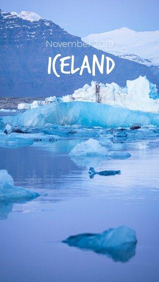 Iceland November 2019