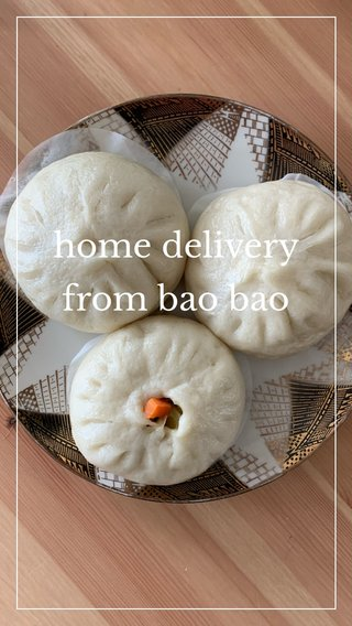 home delivery from bao bao
