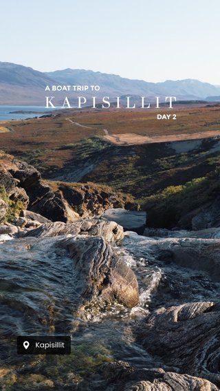 KAPISILLIT A BOAT TRIP TO DAY 2