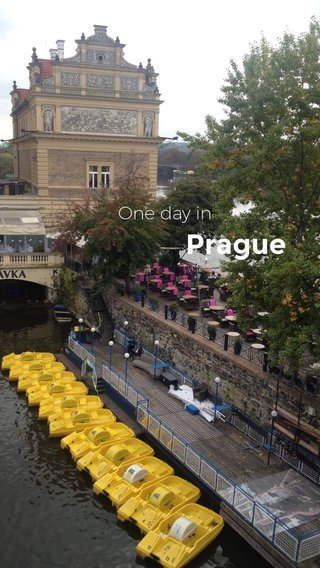 Prague One day in
