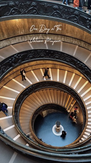 One Day at The Vatican Museum