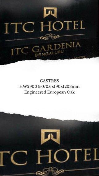 CASTRES HW2900 9.0/0.6x190x1203mm Engineered European Oak