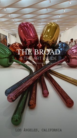 THE BROAD —————————————————— & THE ART INSIDE LOS ÁNGELES, CALIFORNIA