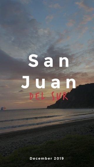 San Juan Del sur December 2019