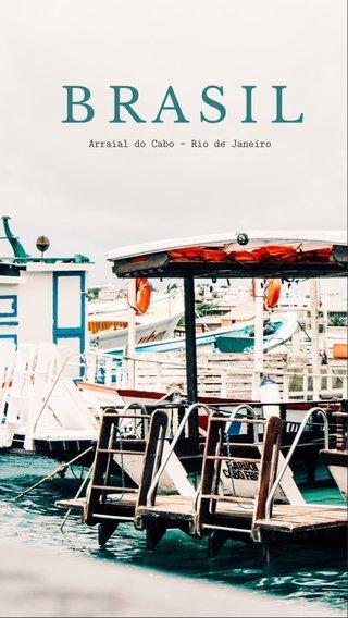 BRASIL Arraial do Cabo - Rio de Janeiro