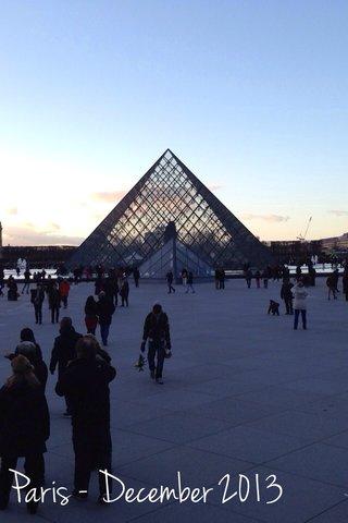 Paris - December 2013