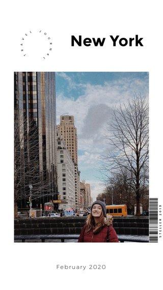 New York February 2020
