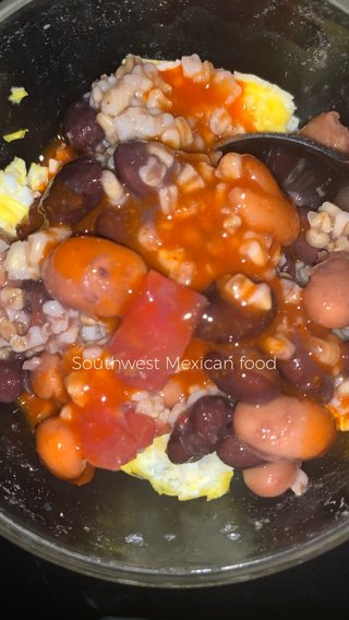 Southwest Mexican food