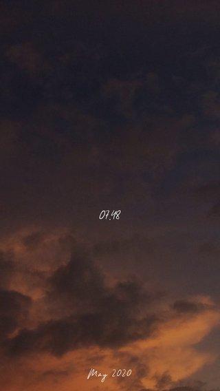 07.48 May 2020