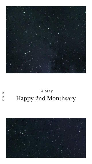 Happy 2nd Monthsary 14 May