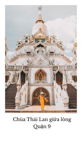 Chùa Thái Lan giữa lòng Quận 9