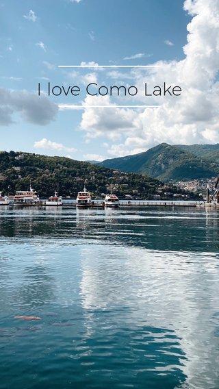 I love Como Lake