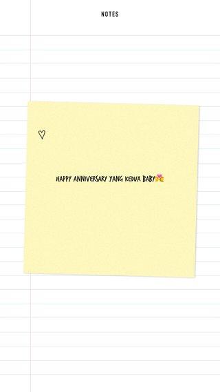 Happy Anniversary yang kedua baby💏