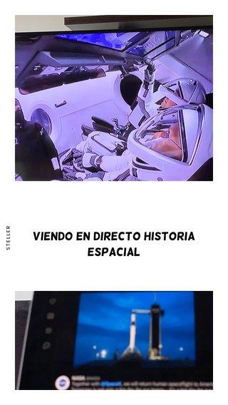 Viendo en directo historia espacial