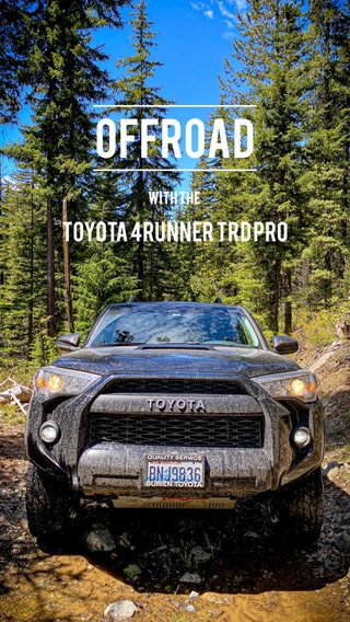 Offroad Toyota 4Runner TRD Pro With the