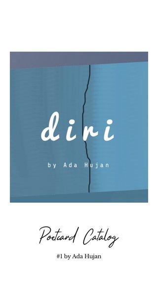 Poetcard Catalog #1 by Ada Hujan
