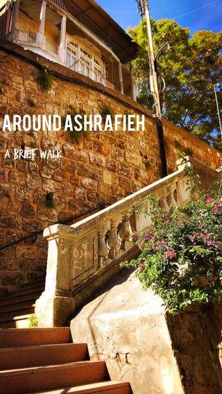 AROUND ASHRAFIEH A BRIEF WALK