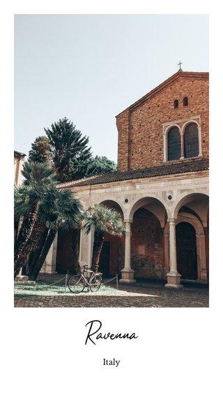 Ravenna #steller #stelleritalia #emiliaromagna Italy