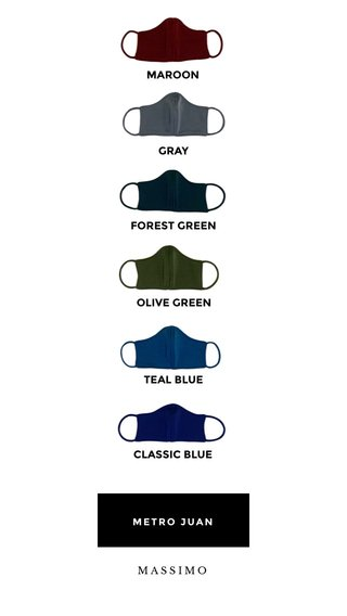 MAROON FOREST GREEN TEAL BLUE CLASSIC BLUE OLIVE GREEN GRAY METRO JUAN MASSIMO