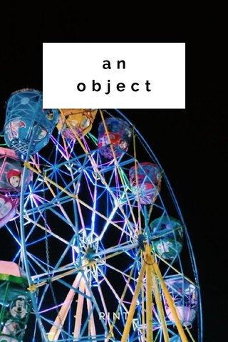 an object RINT