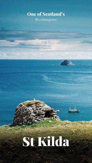 St Kilda One of Scotland's #hiddengems