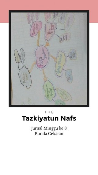 Tazkiyatun Nafs Jurnal Minggu ke 3 Bunda Cekatan THE