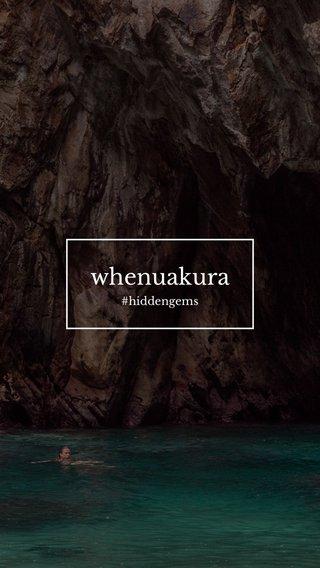 whenuakura #hiddengems