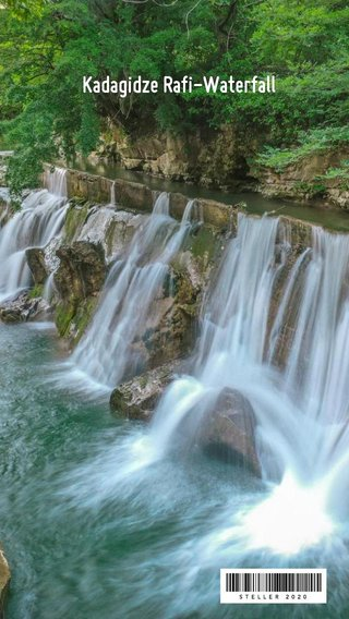 Kadagidze Rafi-Waterfall