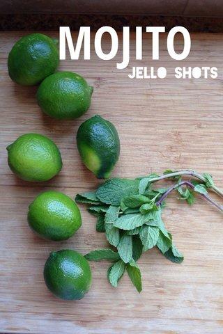 MOJITO Jello Shots