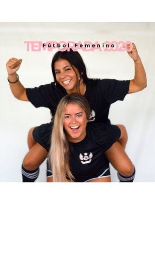 TEMPORADA 2020 Fútbol Femenino