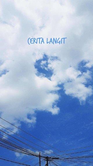 Cerita Langit