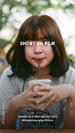 Shoot on film Minolta xg-e With fujicolor c200 #filmphotography #35mm