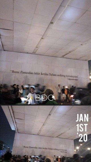 BDG jan 1st '20