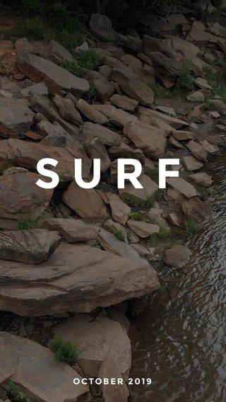 SURF OCTOBER 2019