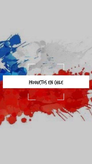 Productos en Chile
