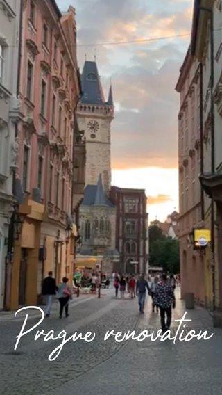 Prague renovation