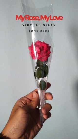 My Rose, My Love VIRTUAL DIARY JUNE 2020