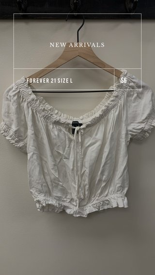 $6 NEW ARRIVALS FOREVER 21 SIZE L