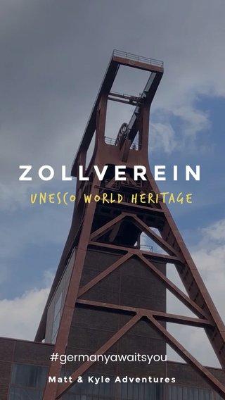 ZOLLVEREIN UNESCO WORLD HERITAGE #germanyawaitsyou Matt & Kyle Adventures