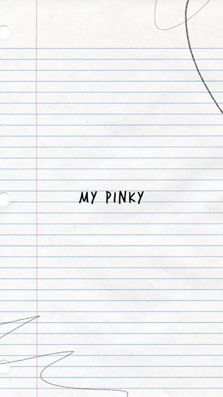 My pinky