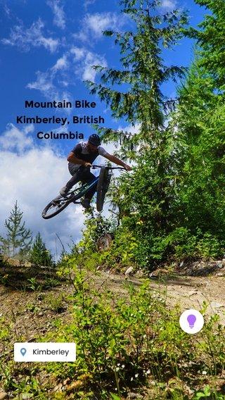 Mountain Bike Kimberley, British Columbia