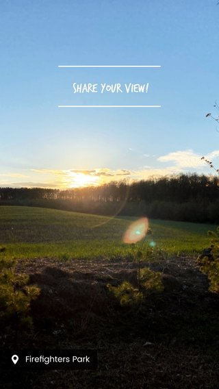 #Share your view!