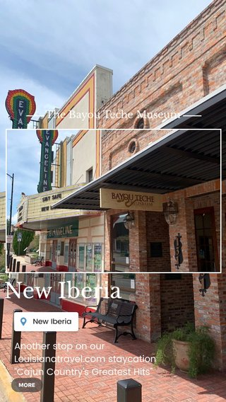 """New Iberia The Bayou Teche Museum Another stop on our Louisianatravel.com staycation """"Cajun Country's Greatest Hits"""" itinerary! #OnlyLouisiana #LoveWhereYouLive"""