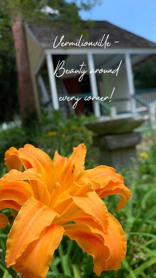 Vermilionville - Beauty around every corner!
